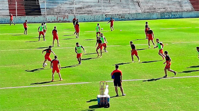 Patronato comienza la semana de trabajo de cara al partido en Mendoza.