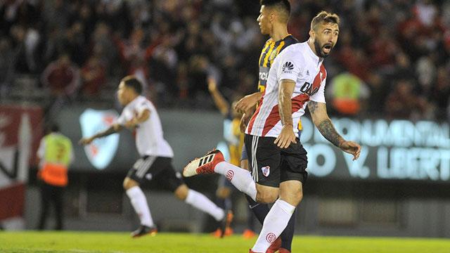Rosario Central y River ponen al día su partido pendiente de la Superliga.