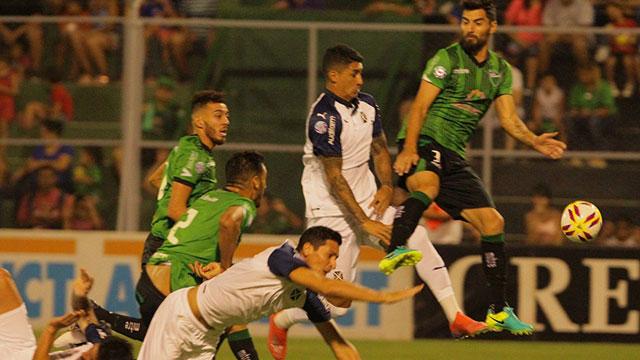 San Martín en San Juan logró un agónico empate ante Independiente. (Foto: Olé)