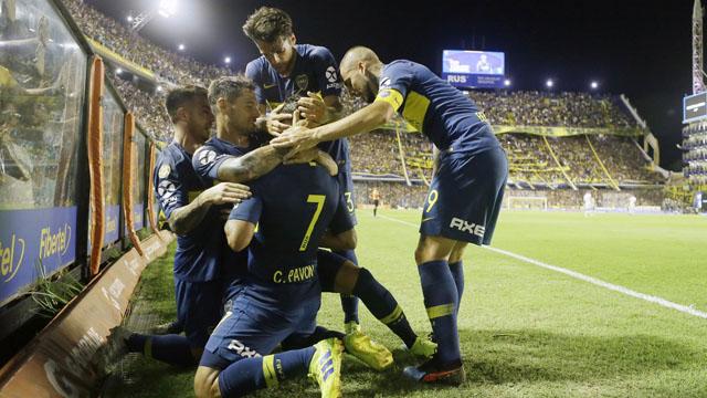 Boca logró una trabajosa victoria ante Lanús en la Bombonera