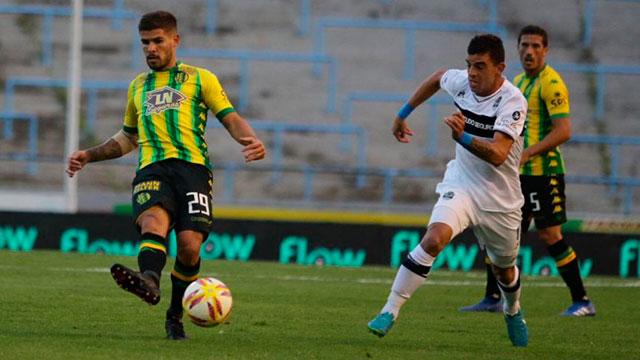 Aldosivi y Gimnasia no pasaron del empate sin goles.