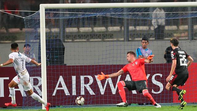 River arrancó la defensa del título con un empate en Perú.