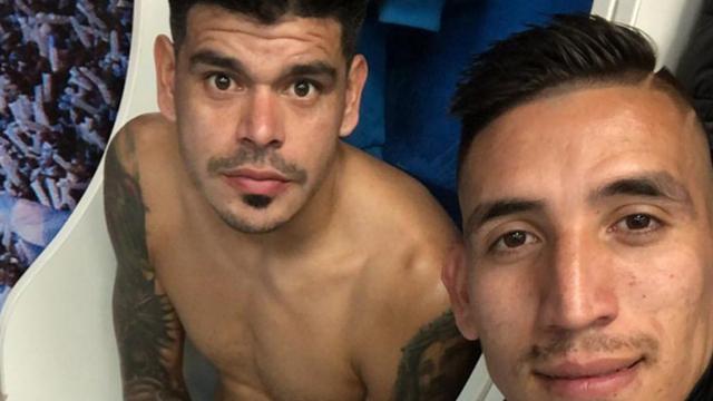 Centurión y el Concordiense Bou podrían volver a jugar juntos en México.