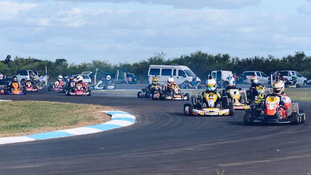 El Karting Entrerriano comenzó en Villaguay.