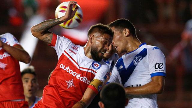 Argentinos y Vélez terminaron en un empate sin goles.