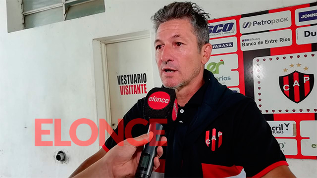 """Como entrenador me da mucha satisfacción""."