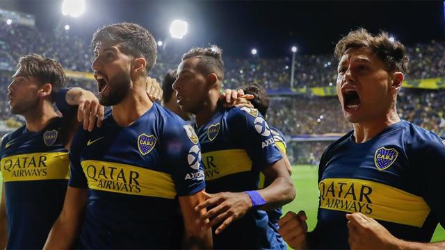 Boca marcó la diferencia en el complemento y sumó su primer triunfo en la Copa.