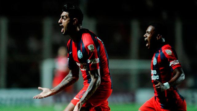 San Lorenzo superó a Junior por la Libertadores.