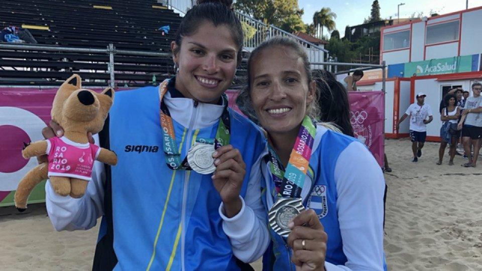 Medalla de plata para Ana Gallay y Fernanda Pereyra.