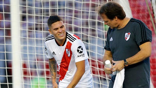Juan Fernando Quintero se rompió los ligamentos cruzados.