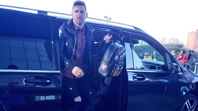Y un día volvió: Lionel Messi se sumó a la Selección Argentina en Madrid