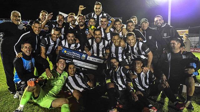 Gimnasia de Mendoza sacó a Aldosivi de la Copa Argentina.