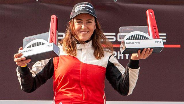 Ianina Zanazzi, la mujer que se incorpora al Top Race y correrá en Paraná