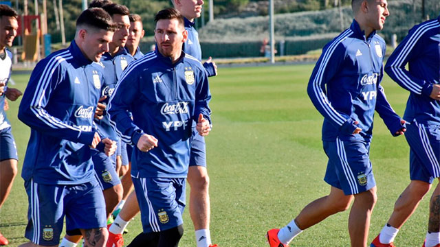La Selección Argentina, con la vuelta de Messi, enfrenta a Venezuela en Madrid