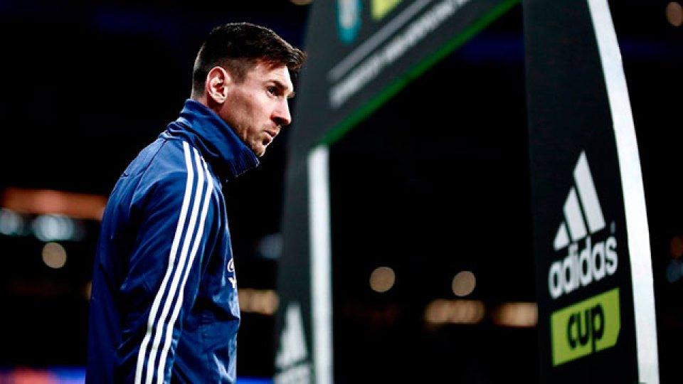 Lionel Messi dejó la concentración de Argentina en Madrid y volvió a Barcelona.