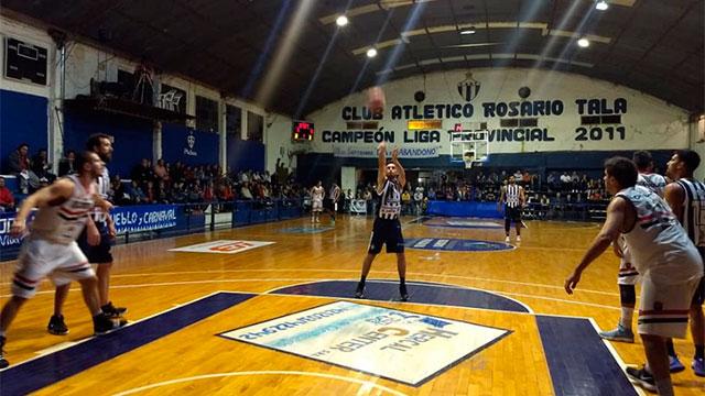 Ajustada derrota de Olimpia en Tala por el Torneo Federal. (Foto: Prensa CAO)
