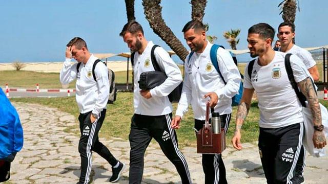 La Selección Argentina llegó a Marruecos para el segundo partido de la gira