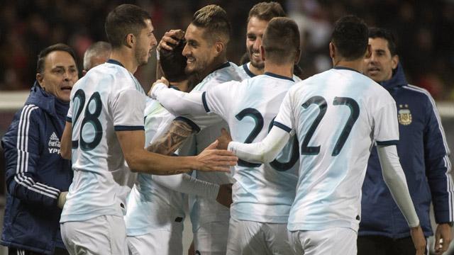Argentina logró una ajustada victoria frente a Marruecos