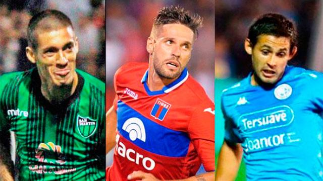 Tigre, Belgrano y San Martín (SJ) quieren quedarse en Primera.
