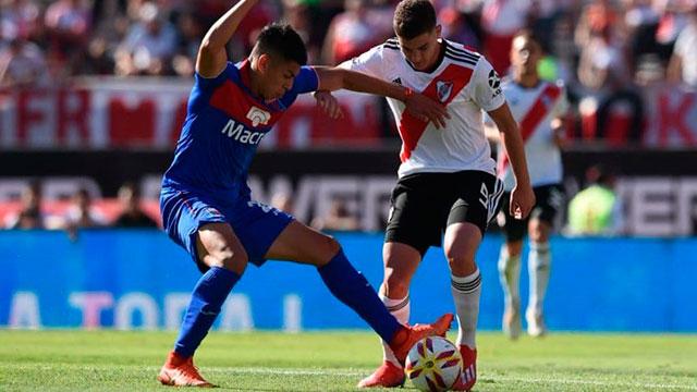 Tigre le ganó a River en el Monumental pero se fue a la B Nacional.