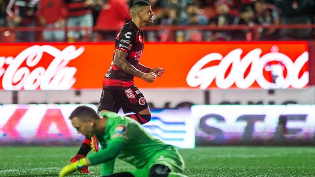 La Pantera aportó su gol para la victria de la Jauría ante las Águilas.