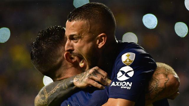 Boca superó a Wilstermann por la Copa Libertadores.