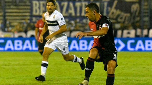 Maxi Rodríguez marcó el gol Leproso. (Foto: La Capital)