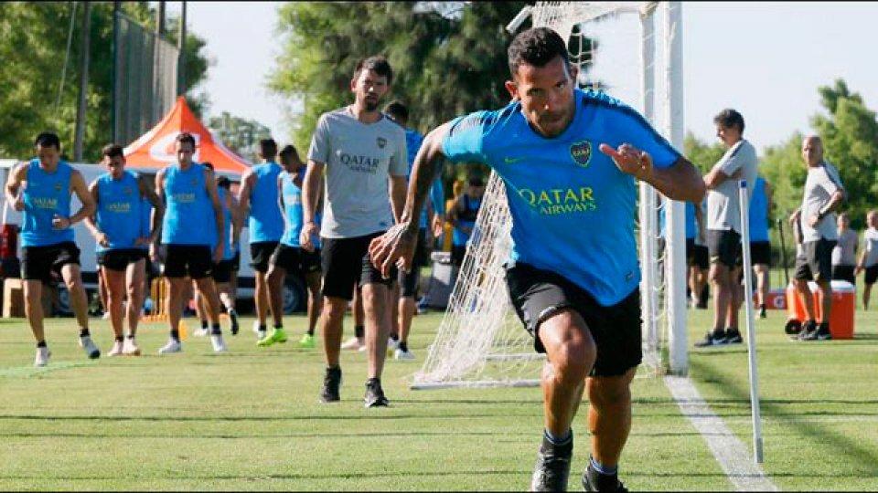 El plantel de Alfaro tuvo el fin de semana libre.