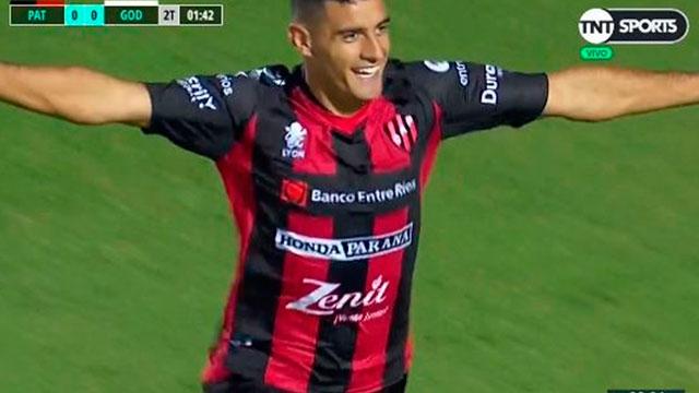 Gerrmán Berterame marcó un golazo.