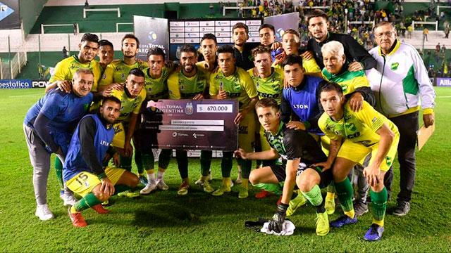 Defensa y Justicia avanzó de ronda en la Copa Argentina.