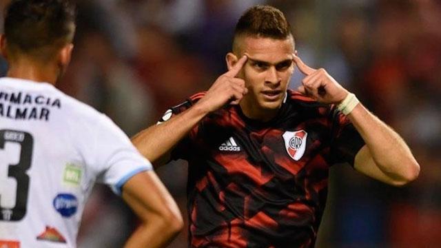 A River le costó, pero terminó goleando a Argentino de Merlo por la Copa Argentina