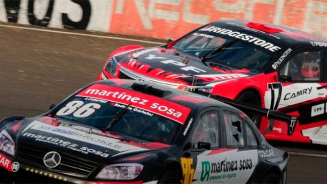 Canapino viene de ganar en el autódromo de Paraná.