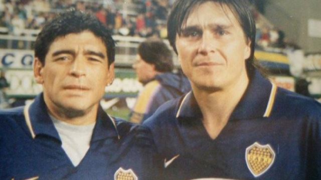 El emotivo mensaje de Maradona por la muerte de Toresani:
