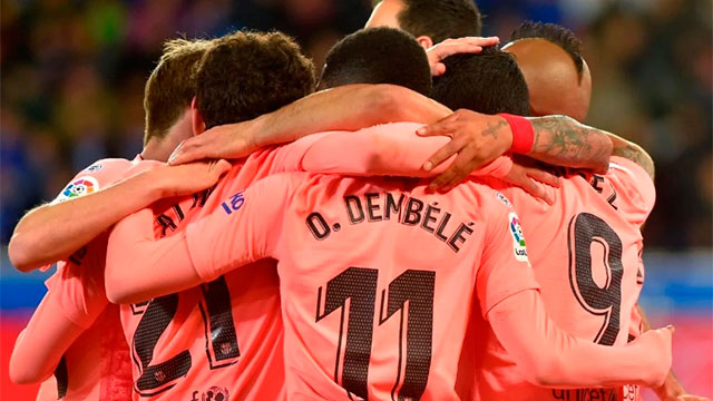 Barcelona le ganó al Levante y puede ser campéon este miércoles en España.