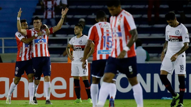Libertadores: San Lorenzo perdió en Barranquilla pero clasificó a octavos de final