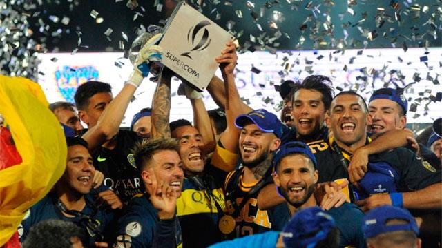 Boca se consagró campeón de la Supercopa Argentina.
