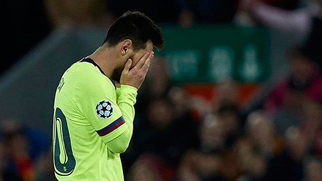 El lamento de Messi.