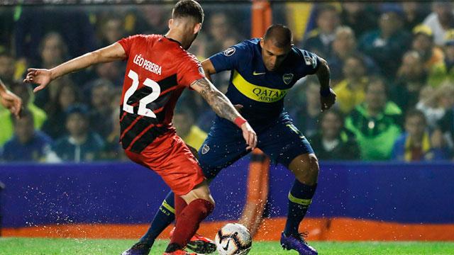 El Xeneize dio vuelta el resultado ante Paranaense. (@BocaJrsOficial).