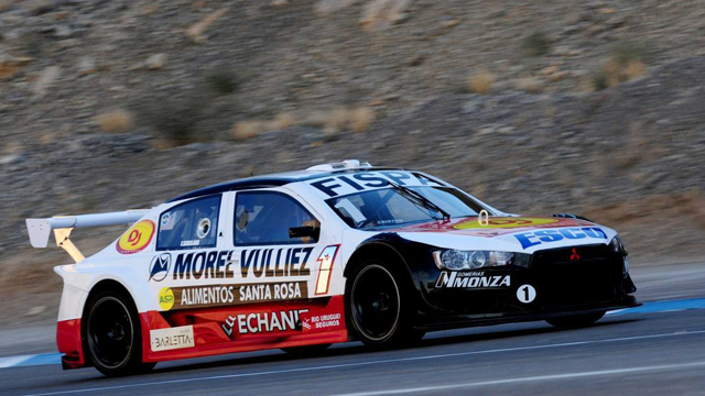 El defensor del título le dio en El Zonda San Juan la tercer pole al GF Racing.