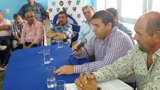 """Se le prohibirá a Victoria participar de Torneos Federales"", avisó Toviggino."