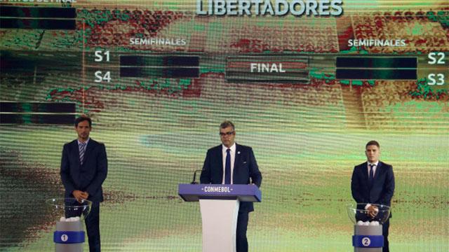 Sortearon los octavos de final de la Libertadores.