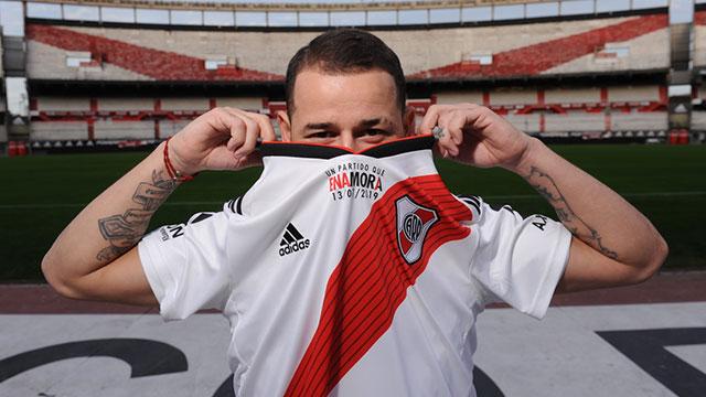 Rodrigo Mora presentó su partido homenaje.