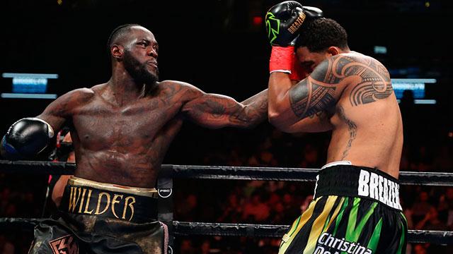 El tremendo nocaut con el que Deontay Wilder retuvo el título mundial de pesados