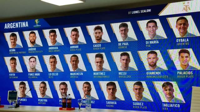 Scaloni dio la lista para la Copa América.