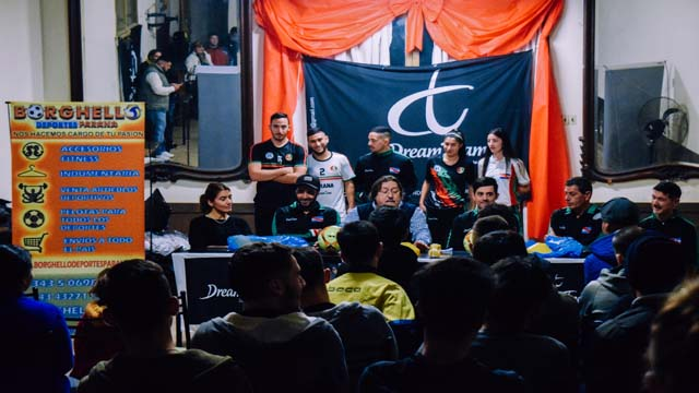 Presentación del los Seleccionados Paranaenses de Futsal Masculino y Femenino.