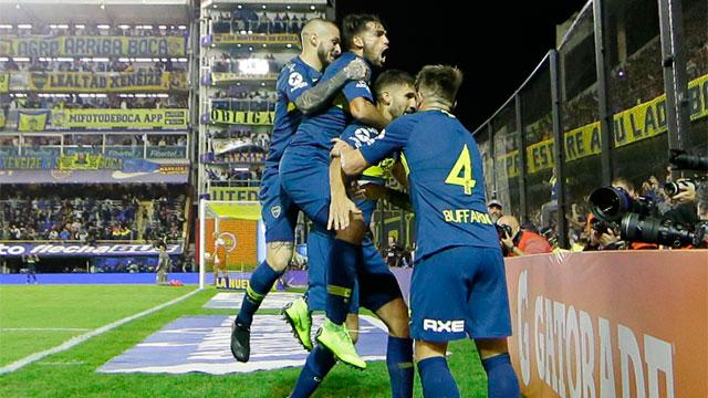 Boca se impuso ante Argentinos y es finalista de la Copa de la Superliga
