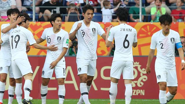 Los Tigres de Asia consiguieron la clasificación cerca del final del encuentro.