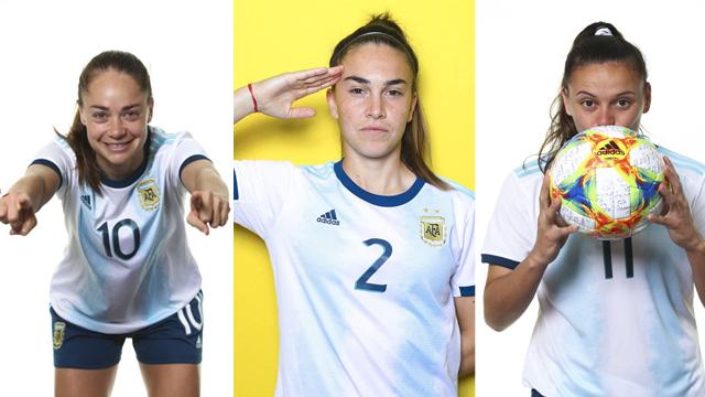 La futbolistas de la Albiceleste se sacaron la foto oficial para el Mundial.