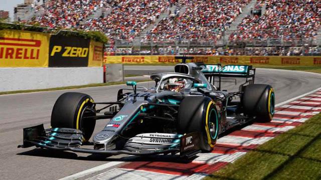 Era de Vettel, pero fue para Hamilton.
