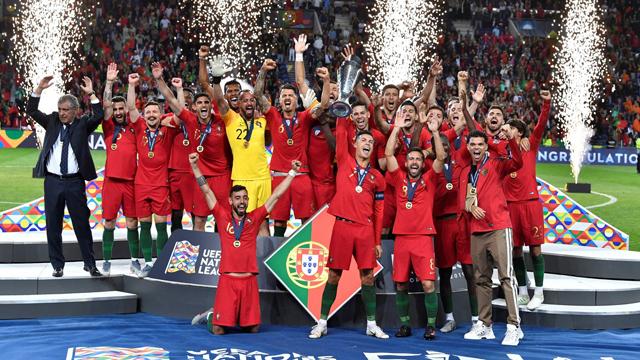 A tres años de la Eurocopa, los lusos volvieron a festejar.